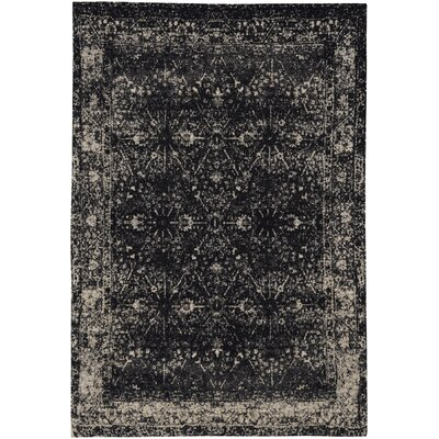 Edinburgh Ebony Area Rug Rug Size: 9 x 12