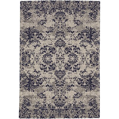Edinburgh Navy Area Rug Rug Size: 5 x 8