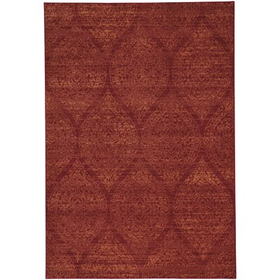 Edgware Red Area Rug Rug Size: 710 x 1010