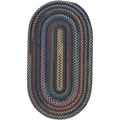 Heidi Blue/Green Area Rug Rug Size: Oval 114 x 144