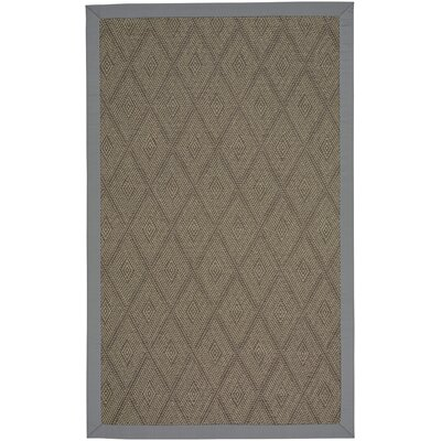 Gresham Earl Gray Braided Brown Indoor/Outdoor Area Rug Rug Size: 24 x 36