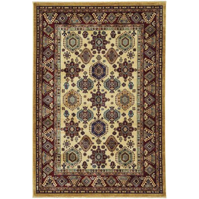 Etonbury Traditional Rectangle Sand Area Rug