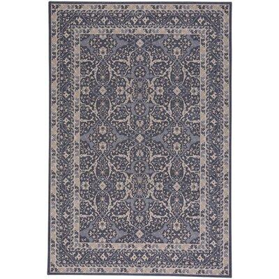 Westerlo Ziegler Wool Blue Area Rug Rug Size: 53 x 76