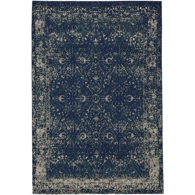 Edinburgh Blue Area Rug Rug Size: 9 x 12