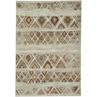 Pilesgrove Mosaic Beige Area Rug Rug Size: 710 x 11