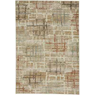 Adalyn Tan Area Rug Rug Size: 710 x 11
