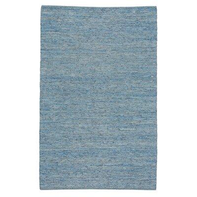 Kandi Flat Blue Area Rug Rug Size: 7 x 9