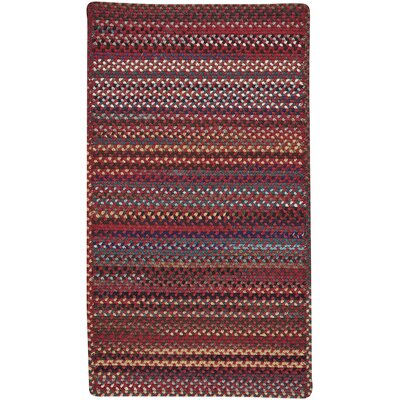 Heidi Red Area Rug Rug Size: 92 x 132