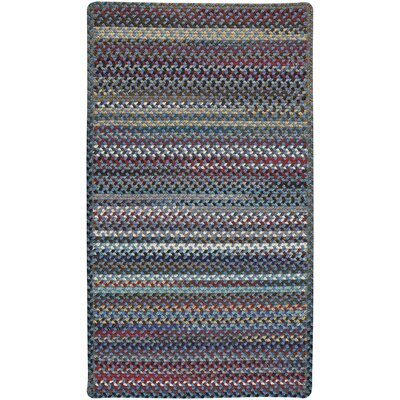 Heidi Blue/Red Area Rug Rug Size: 3 x 5