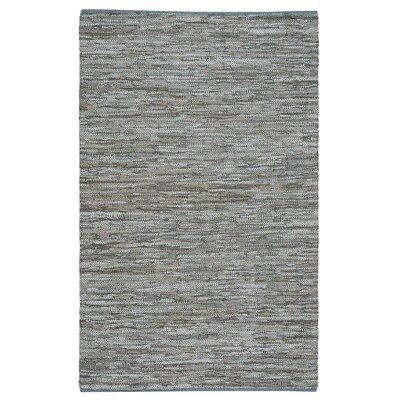 Kandi Flat Gray Area Rug Rug Size: 4 x 6
