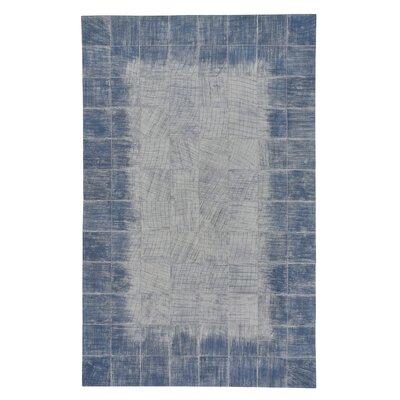 Ramanna Carolina Blue Area Rug Rug Size: 5 x 8