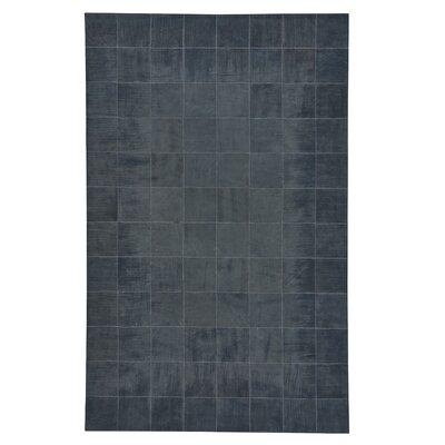 Ramanna Dark Blue Area Rug Rug Size: 5 x 8