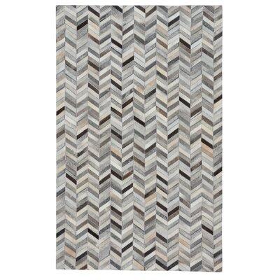 Ramanna Gray Area Rug Rug Size: 5 x 8