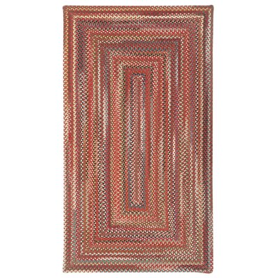 Portland Red Area Rug Rug Size: Rectangle 92 x 132