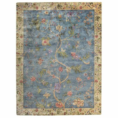 Garden Farms Blue Area Rug Rug Size: 8 x 11