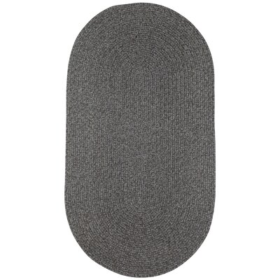Manteo Smoke Area Rug Rug Size: Oval 18 x 26