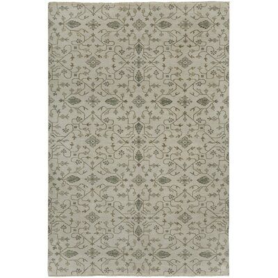 Heavenly Grey Floral Area Rug Rug Size: 9�x 12