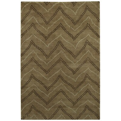 Picturesque Whimsy Chocolate Area Rug Rug Size: 7 x 9