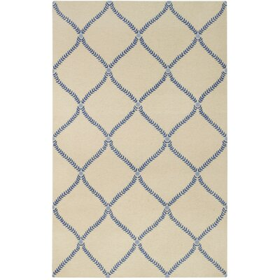 Parable Blue Area Rug Rug Size: Rectangle 5 x 8