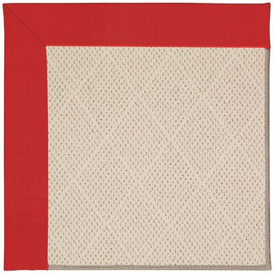 Zoe Light Beige Indoor/Outdoor Area Rug Rug Size: 4 x 6