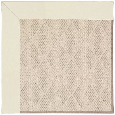 Zoe Light Brown Indoor/Outdoor Area Rug Rug Size: Rectangle 8 x 10