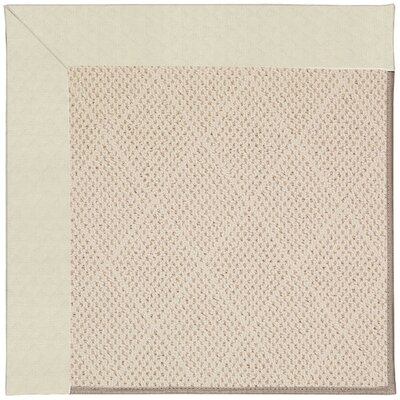 Zoe Cream Indoor/Outdoor Area Rug Rug Size: Square 10'