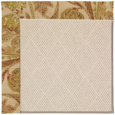 Zoe Light Beige Indoor/Outdoor Area Rug Rug Size: 2 x 3