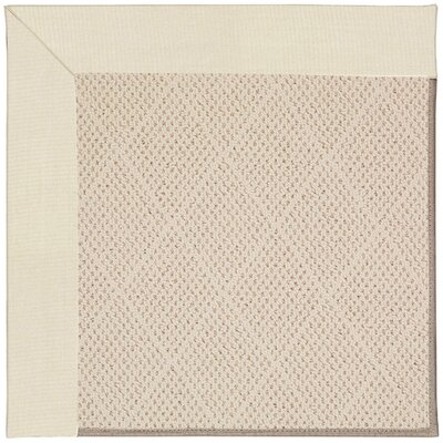 Zoe Beige Indoor/Outdoor Area Rug Rug Size: Square 10'