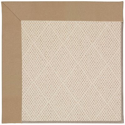 Zoe Off White Indoor/Outdoor Area Rug Rug Size: Square 8