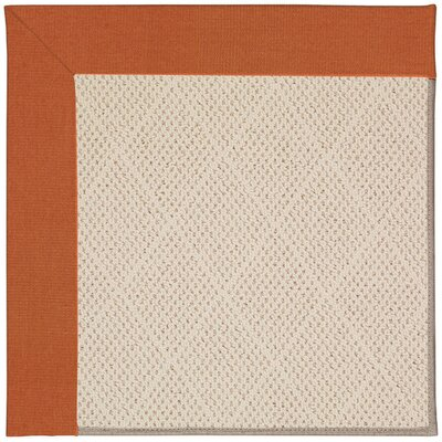 Zoe Cream Indoor/Outdoor Area Rug Rug Size: Square 12