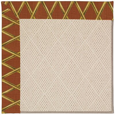 Zoe Beige Indoor/Outdoor Area Rug Rug Size: Square 4