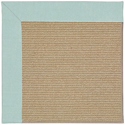 Zoe Machine Tufted Blue/Brown Indoor/Outdoor Area Rug Rug Size: 9 x 12