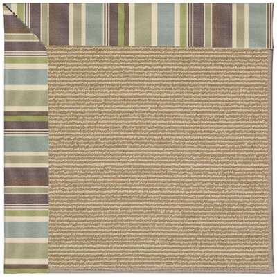 Zoe Machine Tufted Indoor/Outdoor Area Rug Rug Size: Round 12' x 12'