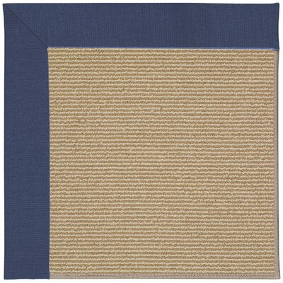 Zoe Machine Tufted Blue/Brown Indoor/Outdoor Area Rug Rug Size: Rectangle 9 x 12