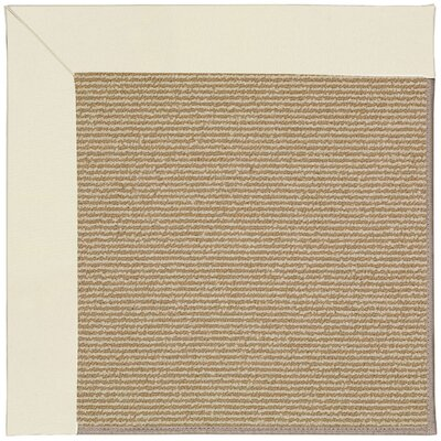 Zoe Machine Tufted Beige/Brown Indoor/Outdoor Area Rug Rug Size: Square 10
