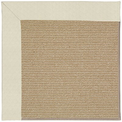 Zoe Brown Indoor/Outdoor Area Rug Rug Size: Square 8'