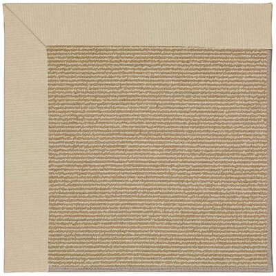 Zoe Machine Tufted Ecru Indoor/Outdoor Area Rug Rug Size: Square 4