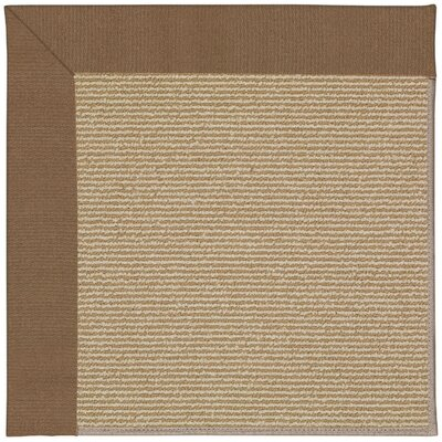 Zoe Machine Tufted Cafe Indoor/Outdoor Area Rug Rug Size: Square 10