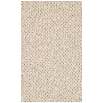 Shoal Beige Indoor/Outdoor Area Rug Rug Size: Square 8