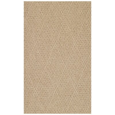 Burgher Brown Machine Woven Indoor/Outdoor Area Rug Rug Size: 2 x 3