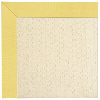 Zoe Off White Indoor/Outdoor Area Rug Rug Size: Rectangle 12' x 15'