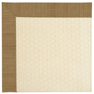 Zoe Light Beige Indoor/Outdoor Area Rug Rug Size: Square 6