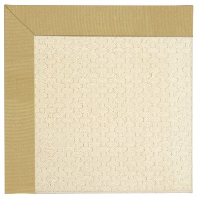 Zoe Light Beige Indoor/Outdoor Area Rug Rug Size: 9 x 12