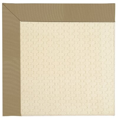Zoe Beige Indoor/Outdoor Area Rug Rug Size: Square 8
