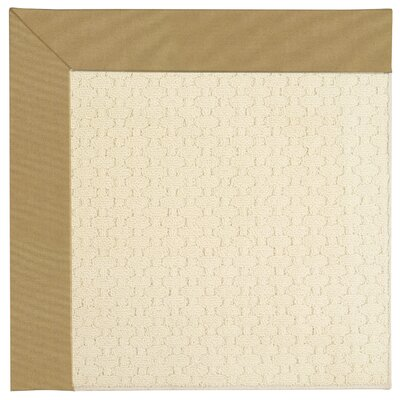 Zoe Light Beige Indoor/Outdoor Area Rug Rug Size: Square 12