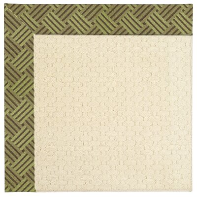 Zoe Off White Indoor/Outdoor Area Rug Rug Size: Square 12'
