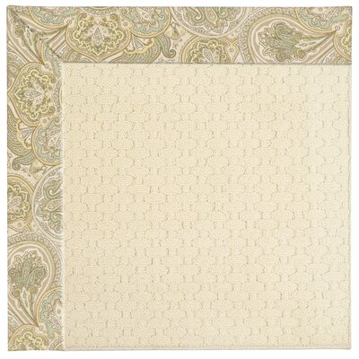 Zoe Light Beige Indoor/Outdoor Area Rug Rug Size: 5' x 8'
