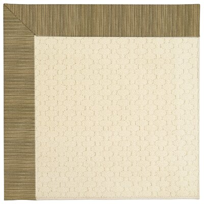 Zoe Beige Indoor/Outdoor Area Rug Rug Size: Rectangle 9' x 12'