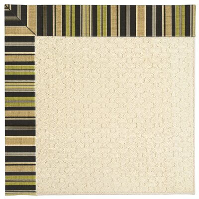 Zoe Beige Indoor/Outdoor Area Rug Rug Size: Rectangle 7 x 9