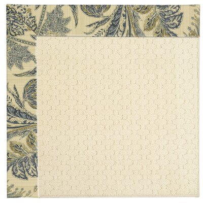 Zoe Cream Indoor/Outdoor Area Rug Rug Size: Square 8
